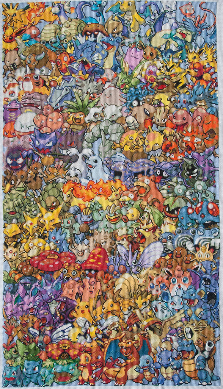 Pokemon close-up